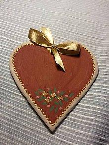 Dekorácie - Svadobné srdce - 9090295_