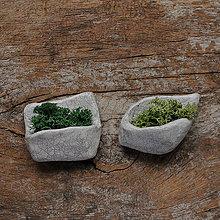 Magnetky - miniatúrna RAKU záhrada (magnetka) - 9089255_