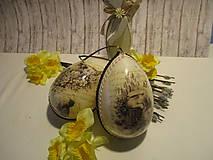 Dekorácie - Veľkonočné vajíčko - 9089931_