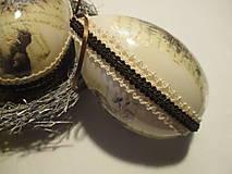Dekorácie - Veľkonočné vajíčko - 9089940_