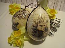 Dekorácie - Veľkonočné vajíčko - 9089945_