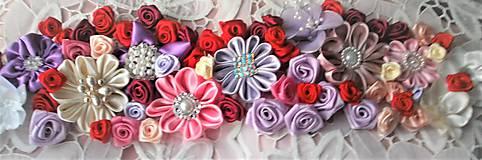 Opasky - Kvetinový opasok - 9088042_