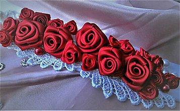 Opasky - Kvetinový opasok - 9088196_
