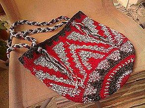 Veľké tašky - Háčkovaná taška - 9090614_