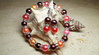 Sady šperkov - Perlová súpravička 8 - 9089457_