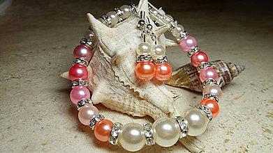Sady šperkov - Perlová súpravička 11 - 9089585_
