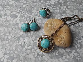 Sady šperkov - Tyrkenitová sada - 9089322_