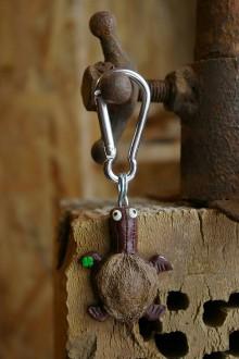 Kľúčenky - Kľúčenka KORYTNAČKA - marhuľa - 9088672_