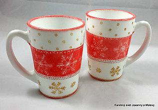 Nádoby - porcelánový hrnček Milujem Vianoce - 9089686_
