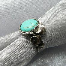 Prstene - Hebká modrosť - 9089366_