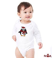 Detské oblečenie - Detské body - Penguin (rodinné oblečenie) - 9090195_