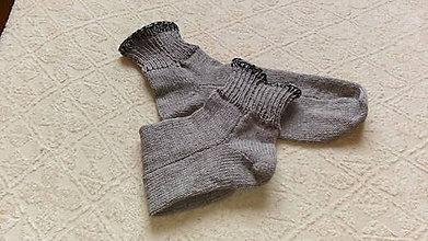 Obuv - Vlnené ponožky - 9090124_