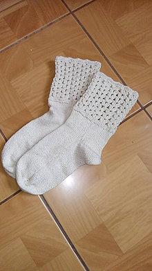 Obuv - Ponožky hodvábne - 9090197_