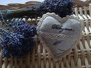 Darčeky pre svadobčanov - Svadobné srdiečka levandulka (Šedá) - 9088353_