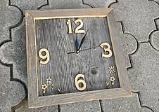 Hodiny - Nástenné hodiny Stodola 2 - 9092475_