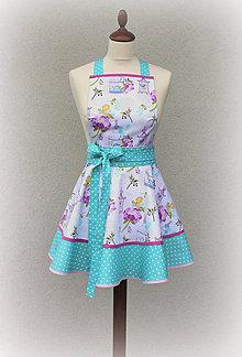 Iné oblečenie - zástera Lulabelle mint - 9095121_