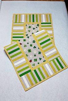 Úžitkový textil - Obrus jarný 85 cm - 9095178_