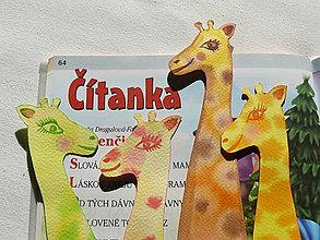 Papiernictvo - Záložky žirafkové - 9091769_