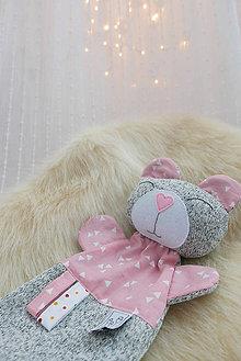 Hračky - Mojkací vankúšik pink (Mojkací vankúšik I.) - 9095175_