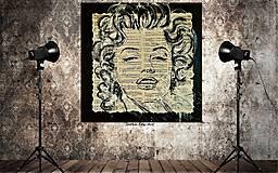 Obrazy - MAGIC MARYLIN MONROE -pop art obraz - 9091436_
