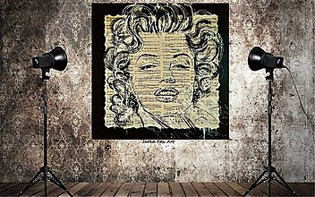 Obrazy - MAGIC MARYLIN MONROE -pop art obraz - 9091436_