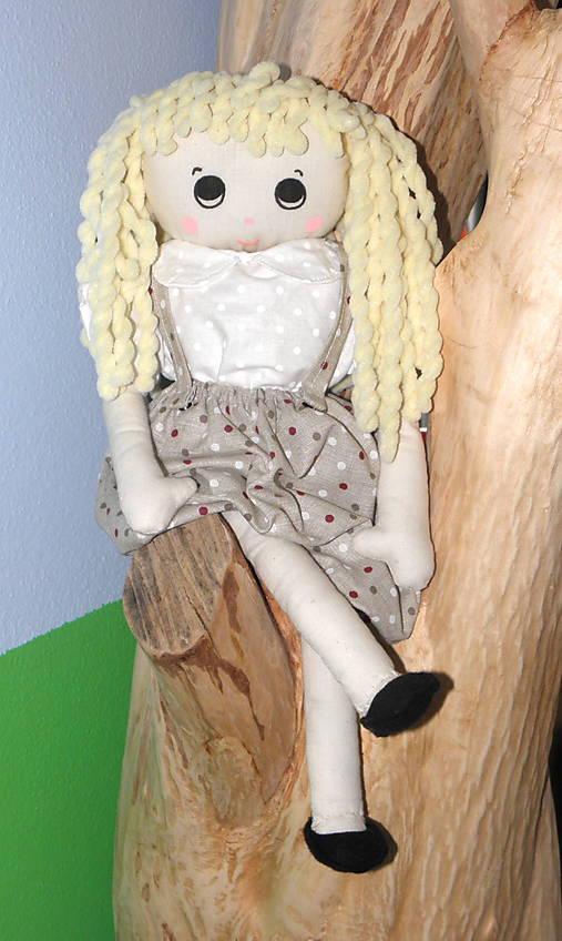 Bábika blonďavá LOTA