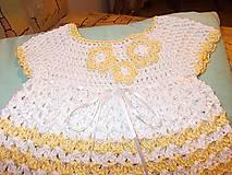 Detské oblečenie - Baby šatôčky Fine - 9091040_