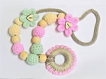 Korále / náhrdelník na kojenie