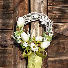 Dekorácie - Venček na dvere - 9092516_