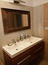 Zrkadlá - Zrkadlo so starého dreva - 9091607_