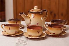 Ružičková čajová súprava