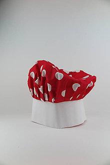 Detské čiapky - Detská kuchárska čiapka Retro - 9092883_