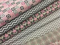Textil - 100% kvalitna bavlna Francuzko - 9094037_