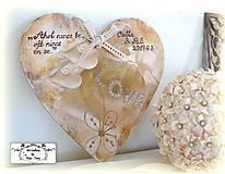 Dekorácie - Velké srdce pre svadobčanov :) - 9093557_