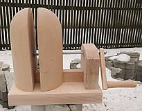 Pomôcky/Nástroje - Nastaviteľná drevená forma na výrobu klobúkov - 9098334_