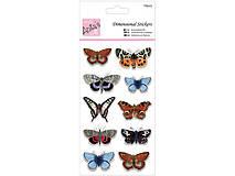 - 3D vrstvené nálepky motýľov - 9098072_