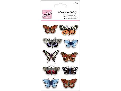 3D vrstvené nálepky motýľov   MaterialPreTvorilky - SAShE.sk ... 3b7dafe3ec3