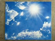 Obrazy - Obloha - NAMAĽOVANÝ OBRAZ - 9098058_
