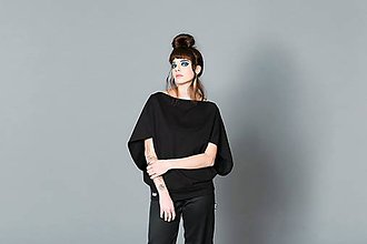 Tuniky - Widesleever Black - 9096000_
