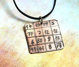 Iné šperky - Jantra z data narození - 9097863_