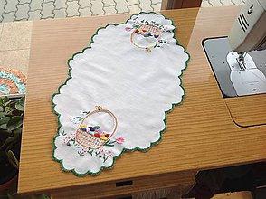 Úžitkový textil - Vajíčkový obrúsok - 9097449_