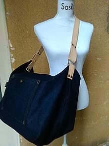 Veľké tašky - URBAN STYLE / Blue - 9098209_