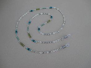 Iné šperky - Retiazka na okuliare z bižutérneho kovu - 9099709_