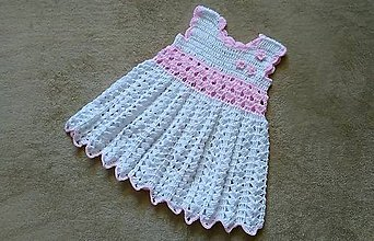 Detské oblečenie - Biele šatky - 9098443_
