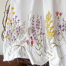 Sukne - Suknička krátka ručne maľovaná - 9096054_