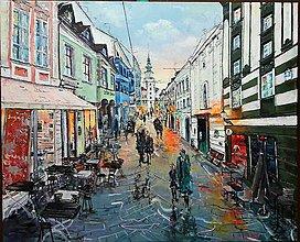 Obrazy - promenáda Michalská - 9098098_