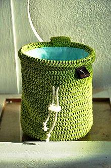 Iné tašky - vrecko na magnezium (Zelená) - 9096415_