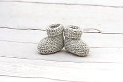 Topánočky - Sivé papučky ALPACA - 9096573_