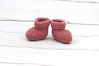 Topánočky - Červené papučky EXCLUSIVE FINE - 9096549_