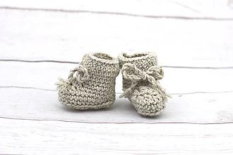 Topánočky - Šedé papučky zimné EXCLUSIVE FINE - 9096875_
